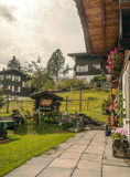 Garden of Murren Royalty Free Stock Photo