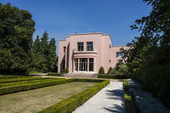 Garden of the Museu Serralves (an art deco mansion) in Porto Stock Photos