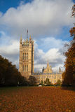 In the garden next to Parliament building Royalty Free Stock Photo