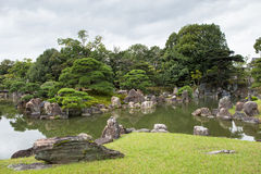 Garden of Nijo castle Stock Photo