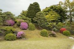 Garden at Nijo Castle, Kyoto, Japan Stock Photos