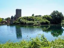 The Garden of Ninfa in Italy Stock Photography