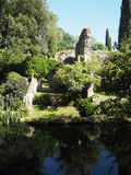 The Garden of Ninfa in Italy Stock Image