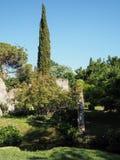 The Garden of Ninfa in Italy Stock Photos