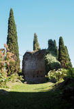 The Garden of Ninfa in Italy Royalty Free Stock Images