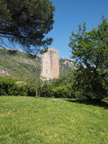 The Garden of Ninfa in Italy Royalty Free Stock Photo