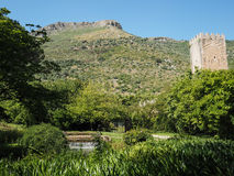 The Garden of Ninfa in Italy Royalty Free Stock Image