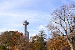 Garden. November 01,2016 : Toronto, Canada : View of park in Toronto royalty free stock photo