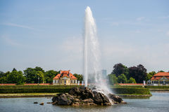 The Garden of Nymphenburg Palace Stock Photography