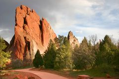 Free Garden Of The Gods Royalty Free Stock Photos - 112858