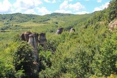 Garden of Ogres - Gradina Zmeilor Royalty Free Stock Photos