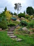 Garden in Olomouc Royalty Free Stock Photo