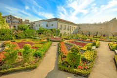 Episcopal Palace Braga Royalty Free Stock Photos