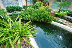 Garden and outdoor design. This is garden and outdoor design.this place is in east of thailand Stock Photography