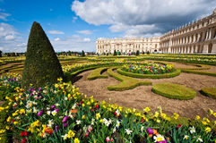 Garden of Palace of Versailles Royalty Free Stock Photos
