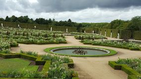 Garden at Palace of Versailles Stock Images