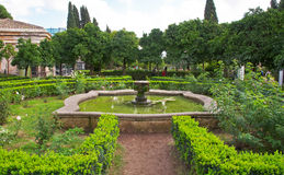 Garden on Palatine Hill in Rome in Italy Royalty Free Stock Images
