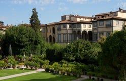 Garden of Palazzo Pfanner Stock Photo