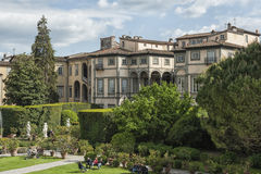 Garden of Palazzo Pfanner, Lucca, Tuscany. Italy Royalty Free Stock Images