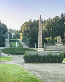 Garden at Palazzo Pitti Royalty Free Stock Photo