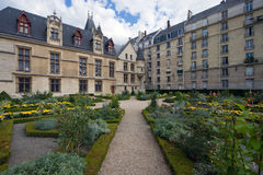 Garden in Paris Royalty Free Stock Images