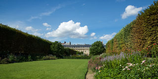 The Garden of Paris's Palais Royal Stock Image