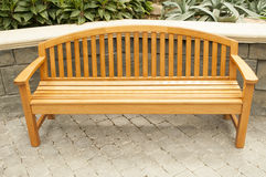 Garden Park Bench Stock Photography