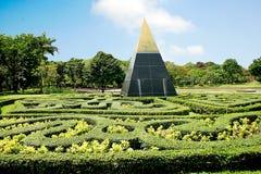 Garden. Park, one of Bangkok Thailand Stock Images