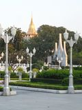 Garden park photos in Bangkok, Thailand There are many interesting places both Thai and foreign tourists. Come to relax and take p. Ictures to keep the stock photo