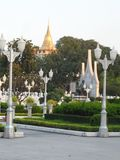 Garden park photos in Bangkok, Thailand There are many interesting places both Thai and foreign tourists. Come to relax and take p. Ictures to keep the stock image