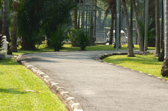 Garden. Park Sathorn Road in Becket Royalty Free Stock Photography