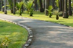 Garden. Park Sathorn Road in Becket Royalty Free Stock Photo