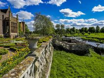 Garden. Parterre garden at stately home royalty free stock photography