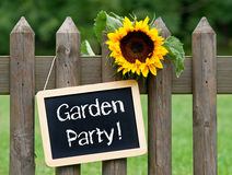 Garden party! Royalty Free Stock Photo