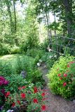 Garden path Royalty Free Stock Photo