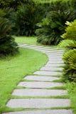 Garden path Stock Image