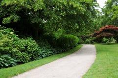 Garden Path. Footpath through a Beautiful Formal Garden Stock Image