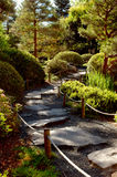 Garden Path. Japanese Garden Path royalty free stock images