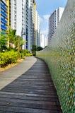 Garden Path in City royalty free stock photos