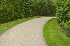 Garden path Stock Photo