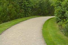 Garden path. English Summer time garden path Stock Photo