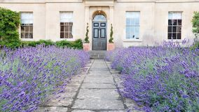 Garden Path Leading to an Attractive London Home Royalty Free Stock Photos
