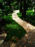 A garden path Royalty Free Stock Photos
