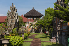 Garden Path at the Royal Courts of Justice. A pathway leading through a garden at the Royal Courts of Justice in Indonesia Stock Photos
