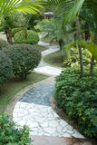 Garden paths Stock Photos