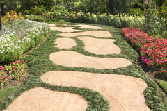 Garden paths Royalty Free Stock Image