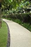 Garden pathway Stock Photos