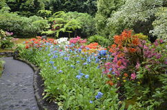 Garden Pathway Royalty Free Stock Photography