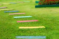 Garden pathway Stock Photo