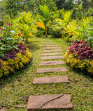 Garden pathway Stock Photo